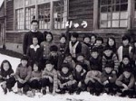草津小学校、石炭ストーブでした。