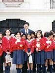 ペルーの学校。最初で最後の海外視察。